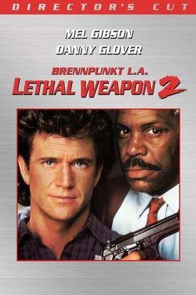 Poster: Lethal Weapon 2 - Brennpunkt L.A.