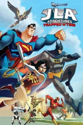 Poster: JLA Adventures: Trapped in Time