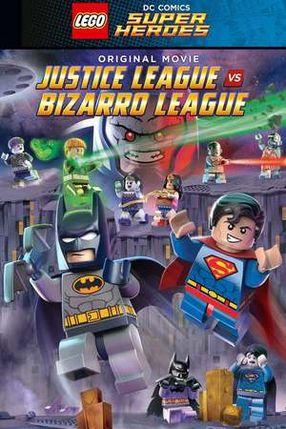 Poster: LEGO DC Comics Super Heroes: Gerechtigkeitsliga vs. Bizarro Liga