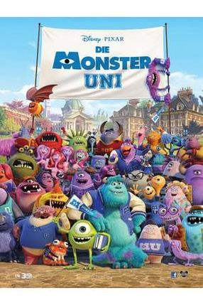 Poster: Die Monster Uni