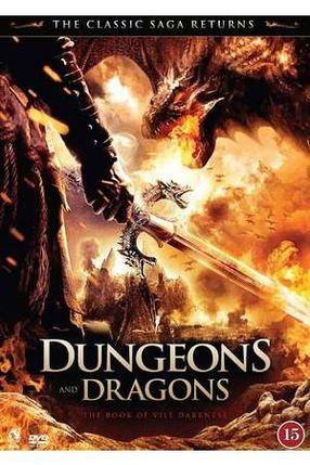 Poster: Dungeons & Dragons - Das Buch der dunklen Schatten