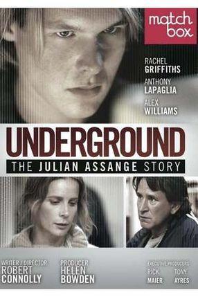 Poster: Underground: Die Julian Assange Story