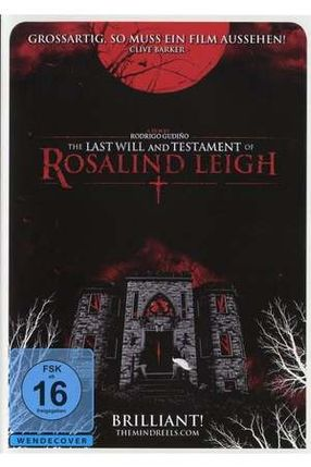 Poster: The Last Will and Testament of Rosalind Leigh