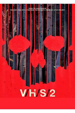 Poster: S-VHS aka. V/H/S/2