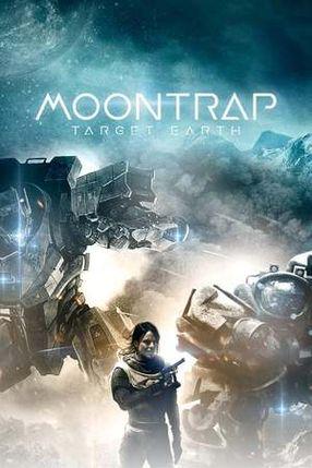 Poster: Moontrap - Angriffsziel Erde