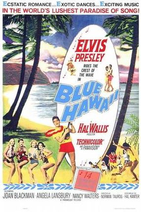 Poster: Blaues Hawaii