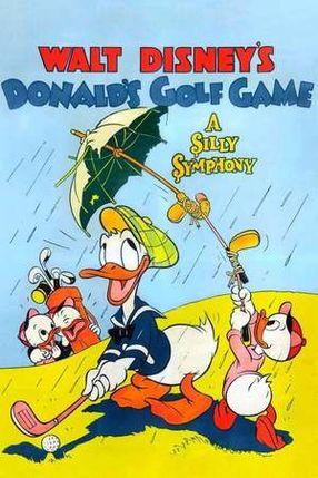 Poster: Donald spielt Golf