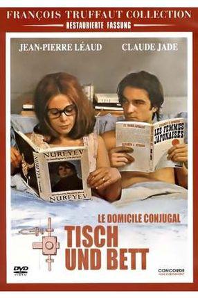Poster: Tisch und Bett