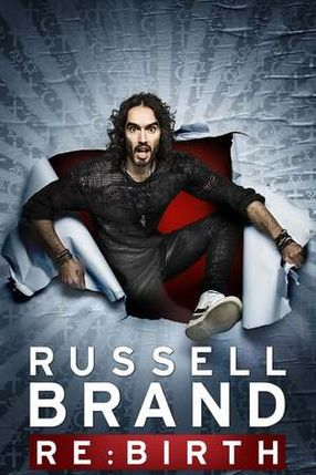 Poster: Russell Brand: Re:Birth