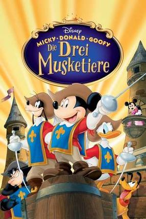Poster: Micky, Donald, Goofy - Die drei Musketiere