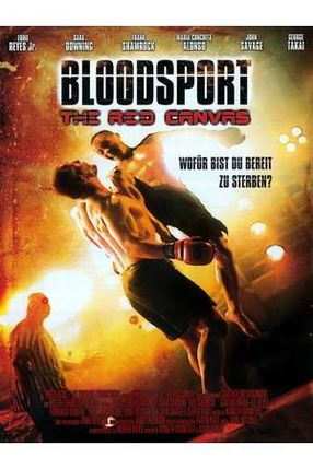 Poster: Bloodsport - The Red Canvas