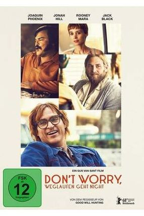 Poster: Don't Worry, weglaufen geht nicht