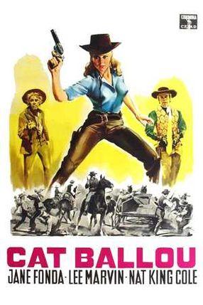 Poster: Cat Ballou - Hängen sollst du in Wyoming
