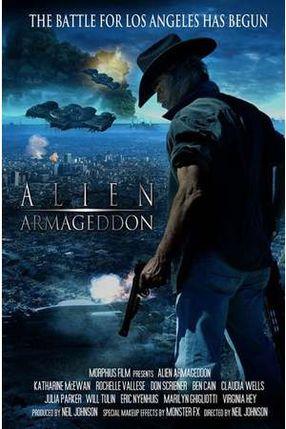 Poster: Alien Armageddon - Spaceship Troopers