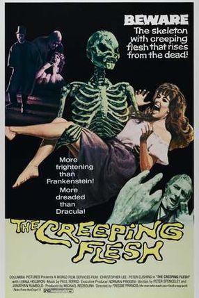 Poster: Nachts, wenn das Skelett erwacht