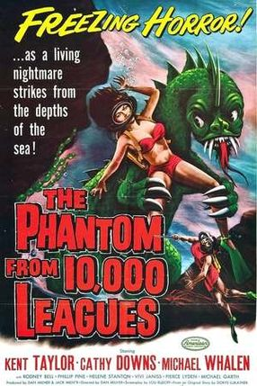 Poster: The Phantom from 10,000 Leagues