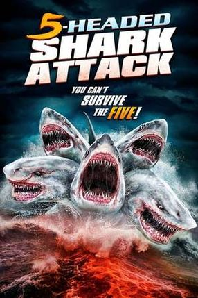 Poster: 5-Headed Shark Attack