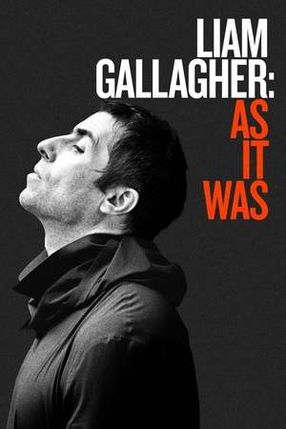 Poster: Liam Gallagher: As It Was