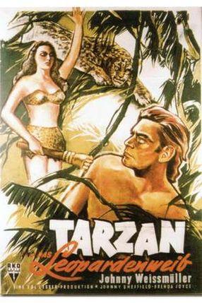 Poster: Tarzan und das Leopardenweib