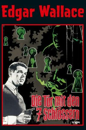 Poster: Edgar Wallace: Die Tür mit den sieben Schlössern