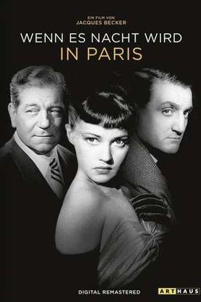 Poster: Wenn es Nacht wird in Paris