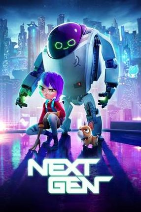 Poster: Das Mädchen und ihr Roboter