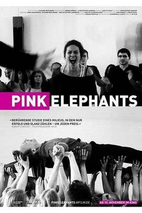 Poster: Pink Elephants