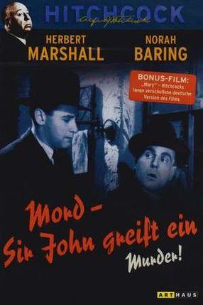 Poster: Mord - Sir John greift ein!