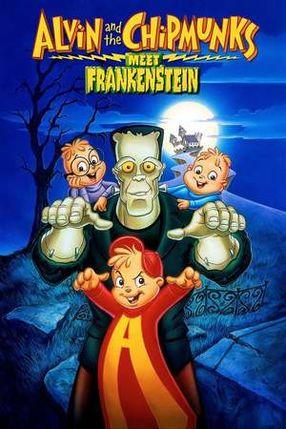 Poster: Alvin und die Chipmunks treffen Frankenstein
