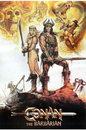 Poster: Conan, der Barbar