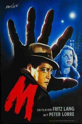 Poster: M - Eine Stadt sucht einen Mörder