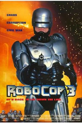 Poster: RoboCop 3