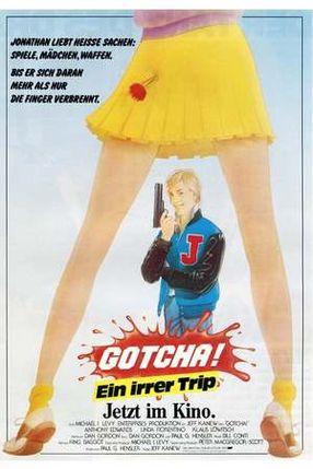 Poster: Gotcha! - Ein irrer Typ