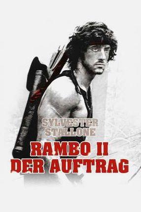 Poster: Rambo II - Der Auftrag