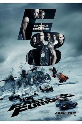 Poster: Fast & Furious 8