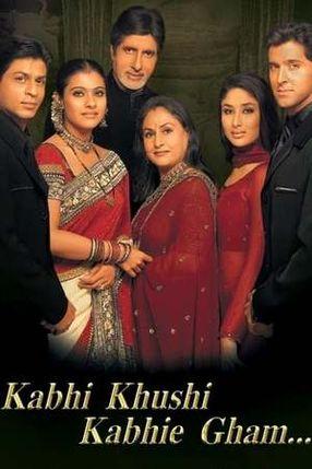 Poster: Kabhi Khushi Kabhie Gham - In guten wie in schweren Tagen