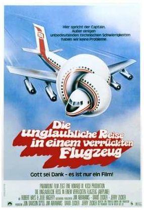 Poster: Die unglaubliche Reise in einem verrückten Flugzeug