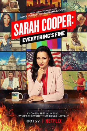Poster: Sarah Cooper: Everything's Fine