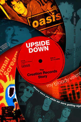 Poster: Upside Down: The Creation Records Story