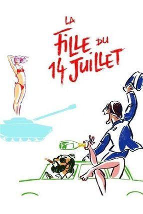 Poster: La fille du 14 juillet
