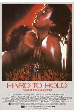Poster: Hard to Hold - Keine Zeit für Zweisamkeit