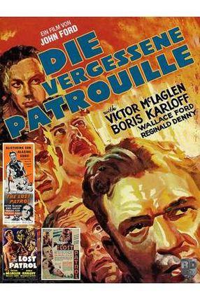 Poster: Die letzte Patrouille