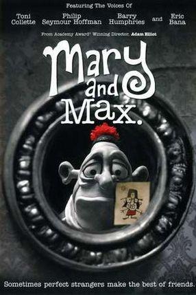 Poster: Mary & Max, oder - Schrumpfen Schafe, wenn es regnet