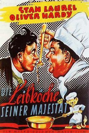 Poster: Dick und Doof - Die Leibköche seiner Majestät