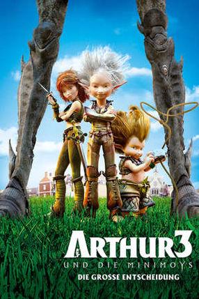 Poster: Arthur und die Minimoys 3 - Die große Entscheidung