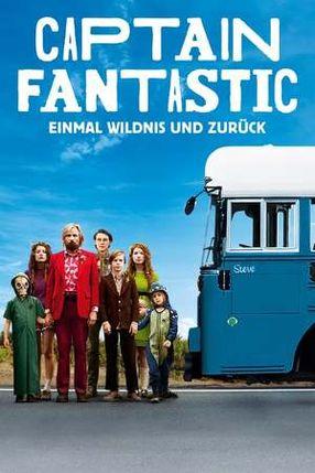 Poster: Captain Fantastic - Einmal Wildnis und zurück