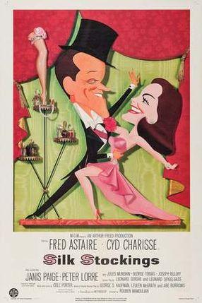 Poster: Seidenstrümpfe