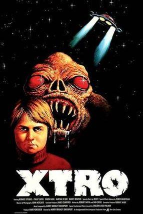Poster: X-Tro - Nicht alle Außerirdischen sind freundlich
