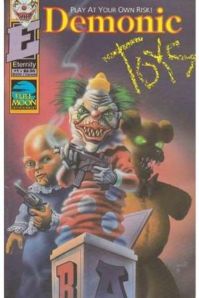 Poster: Dämonische Spiele - Puppet Master vs Demonic Toys