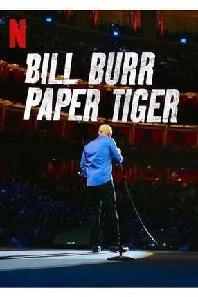 Poster: Bill Burr: Paper Tiger
